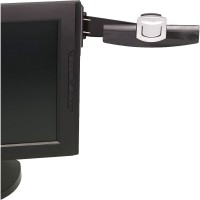 3M SWING ARM COPYHOLDER ADHESIVE MONITOR MOUNT BLACK