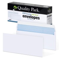 Quality Park Security Envelopes, #10, White, Box Of 100