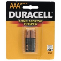 DURACELL AAA 2 PACK 1.5V