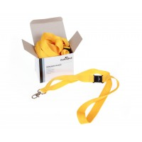 DURABLE YELLOW Textile CORD BADGE