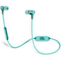 JBL E25BT Wireless Headphones with Mic Teal