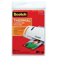 SCOTCH LAMINATING POUCHE 5X7