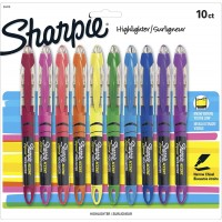 SHARPIE HIGHLIGHTER ASSOR 10X