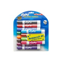 EXPO DRY ERASE MARKERS 12X