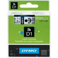 DYM CARTRIDGE TAPE 1/2 BK/CLR