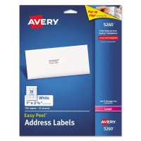 AVE ADRESS LABELS 750 LABEL
