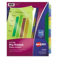 AVE A-Z PRINTED DIVIDERS 12TAB