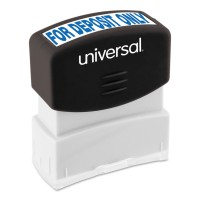 UNIVERSAL STAMP DEPOSIT ONLY BLUE