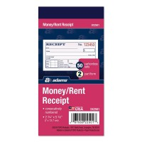 ADAMS MONEY/RENT/RECEIPT 3PK