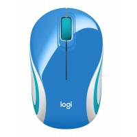 LOGITECH MINI MOUSE M187 BLUE