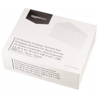GALLERY 156X220 GUMMED ENVELOPE WHITE 500/PACK