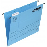 JALEMA PORTFOLIO CLIP FOLDER BLUE 50/PACK