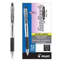 PIL PEN BPT EASY TOUCH BK 12X