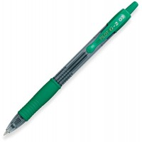PILOT PEN G2 PREMIUM GEL 7MM GREEN