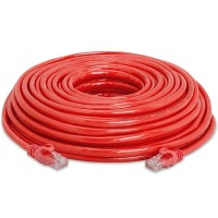 INTELLINET CAT6 100FT RED 15X