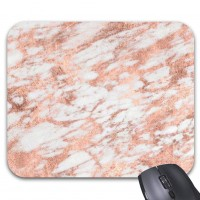 MOUSE PAD METALIC ROSE GOLD