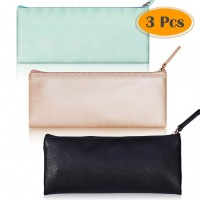 SELIZO PU LEATHER ZIPPER BAG