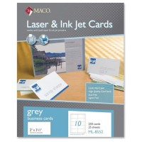 AVERY INKJET BUSINESS CARD, 250/PACK - WHITE