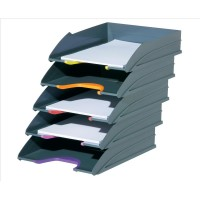 DURABLE VARICOLOR LET TRAY GREY/ASSORTED