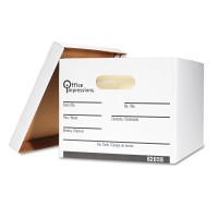 UNIVERSAL STORAGE BOX LEGAL WHITE 12/PACK