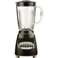 Brentwood 12 Speed Pulse Blender with Glass Jar - Black