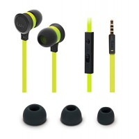 ILUV EARPHONES IN EAR BLACK/GREEN