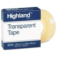 HIGHLAND TAPE CLEAR 1X