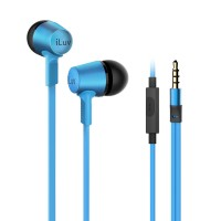 ILUV EARPHONES IN EAR BLACK/BLUE