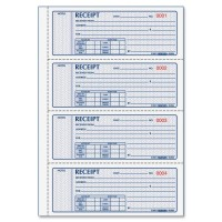 REDIFORM RECEIPT BOOK 3 PART