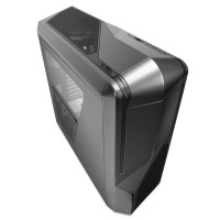 NZXT Phantom 410 Mid Tower Computer Case, Gunmetal with Black Trim
