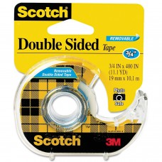 3M TAPE DBL SIDED YLW 3/4X400