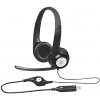 Logitech USB Headset H390 with Microphone