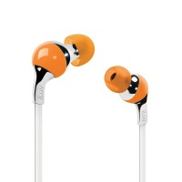 iLuv iEP313ORG Ergonomic and Comfort Flat-Wire Earphones (Orange)