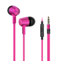 ILUV EARPHONES IN EAR BLK/PINK