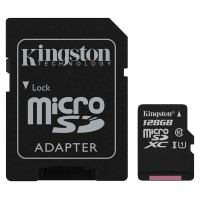 Kingston Micro SD Class 10 Memory Card 128 GB