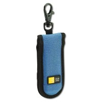 Case Logic JDS-2 USB Drive Shuttle 2-Capacity (Black/Blue)