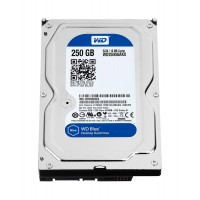 Western Digital 250gb 3.5 Hard Drive (WD2500AAKX-60u6aa0)