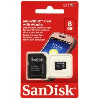 SanDisk Digital Micro SD 8GB Secure Class 4 Memory Card