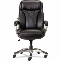 Alera VN4119 Veon Series Executive High-Back Leather Chair, Coil Spring Cushion