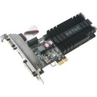 Zotac GEFORCE GT710 1GB PCIEX1 Passive Cooling DL-DVI VGA HDMI