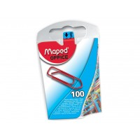 MAPED PCLIPS KLEUR 100X