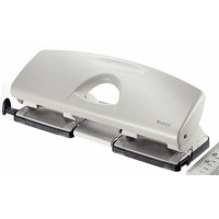 LEITZ Hole Punch 5012 DOUBLE INSERT 2.5MM GRAY