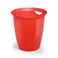 DURABLE WASTE basket TREND Red