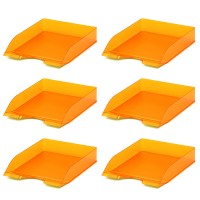 LETTER TRAY BASIC  T/ORANGE 6x