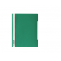 DURABLE A4 CLEARVIEW FOLDER GREEN- 50/PACK