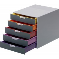DURABLE VARICOLOR 5 Drawer Box