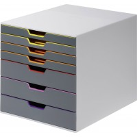 DURABLE VARICOLOR 7 DRAWER BOX