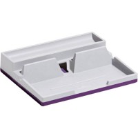 DURABLE VARICOLOR DESK ORGANIZER WHITE