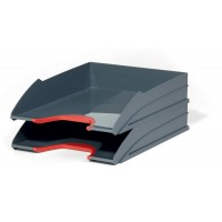 DURABLE VARICOLR LET TRAY SET RED