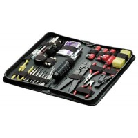 Fellowes 55-Piece Computer Tool Kit, Black